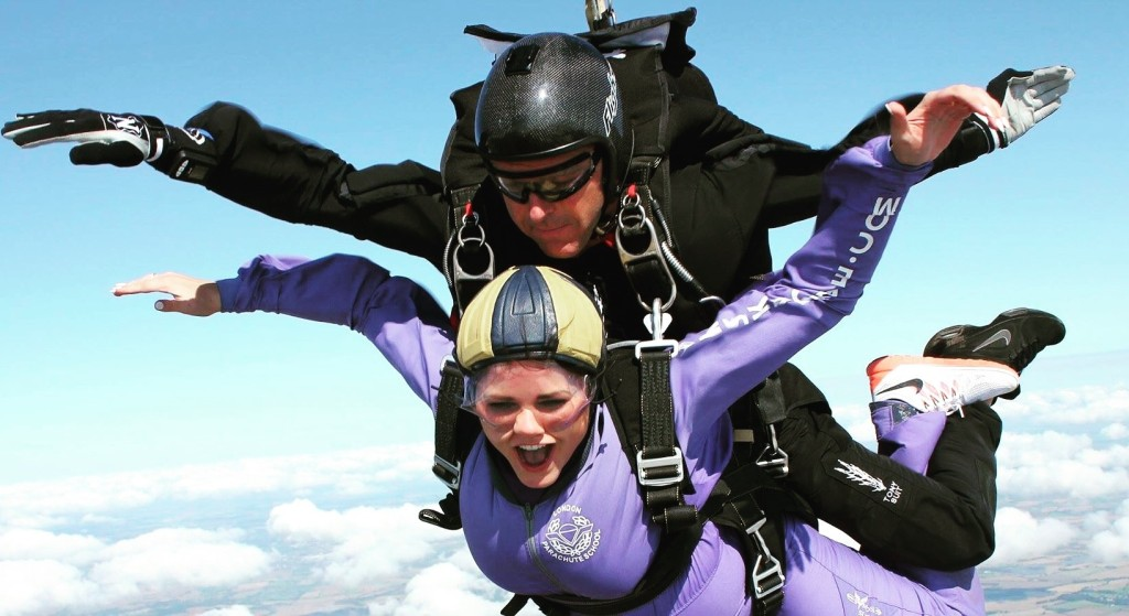 what is a skydive like